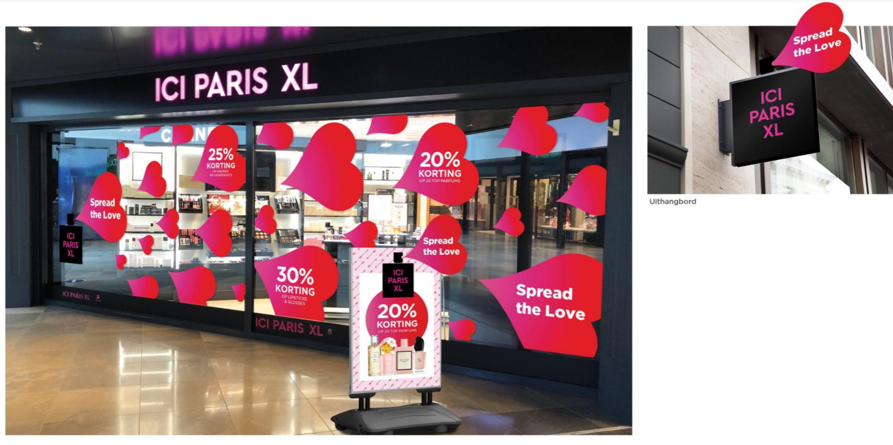 ICI Paris Store window